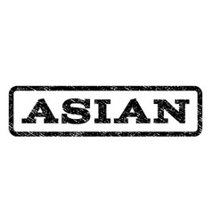 asian watermark stamp vector image