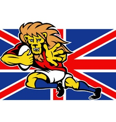 British lion rugby vector