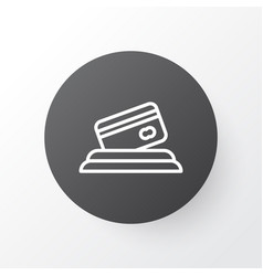 card payment icon symbol premium quality isolated vector image