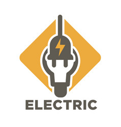 Electric repair and electrician service and works vector