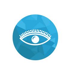 Eyelash logo vector