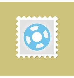 Lifebuoy stamp vector