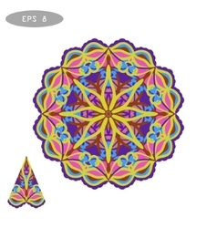 Mandala Coloring 5 vector