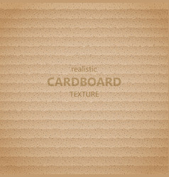 realistic cardboard texture vector image