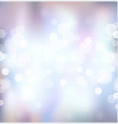 silver festive lights background vector image