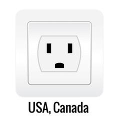 Socket design vector image