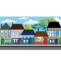 Store shops vector image