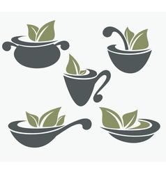eco food vector image vector image
