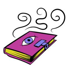 magic book icon icon cartoon vector image