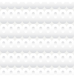 Shades of White Ovals Seamless Background Tile vector image vector image
