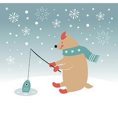 Christmas Christmas card vector image vector image