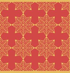 seamless geometric christmas pattern vector image vector image
