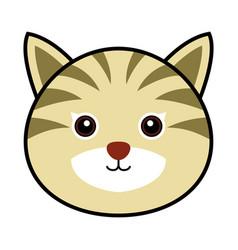 cute cat cute animal faces vector image