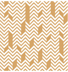 geometric linear pattern ornament for fabric vector image