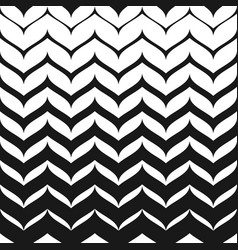 Halftone patten smooth zigzag lines vector