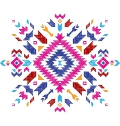 Hand drawn tribal design element vector