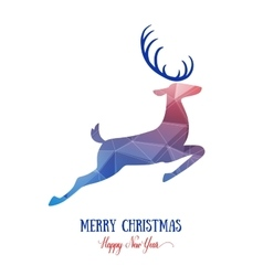 Merry Christmas card creative decoration with vector