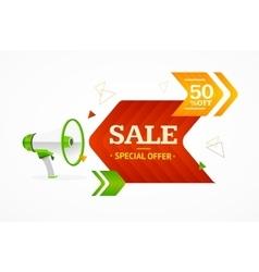 Sale Label Concept vector