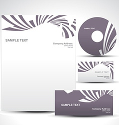 template vector image vector image