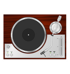 turntable-01 vector image