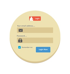 User Login 31 vector