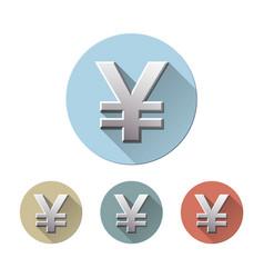 yen currency symbol vector image