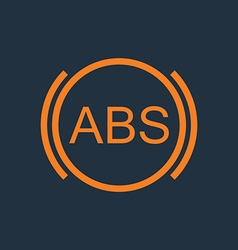 ABS vector image