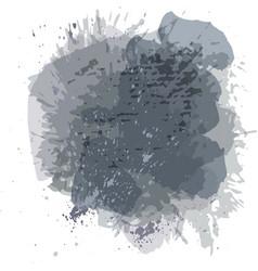abstract watercolor spot background splash vector image vector image
