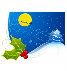 preview Christmas vector image vector image