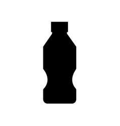 water plastic bottle icon soda lemonade isolated vector image vector image