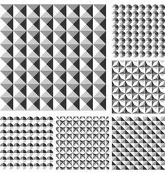 Design seamless geometrical pattern vector