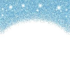 Glitter background vector image