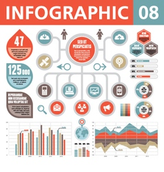 Infographic Elements 08 vector image vector image