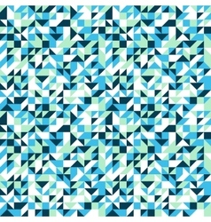Small mosaic pattern in blue vector