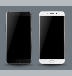 smartphone mockup vector image vector image