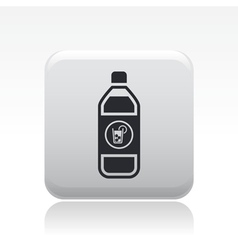 drink bottle icon vector image