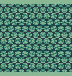 traditional seamless pattern background vector image vector image