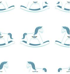 seamless pattern for children vector image