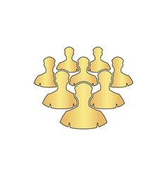 Leader computer symbol vector