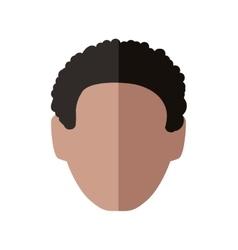 Man head icon Male avatar design graphic vector image