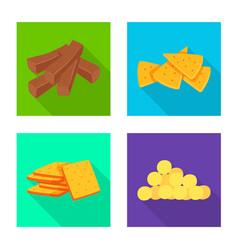 Oktoberfest and bar icon vector