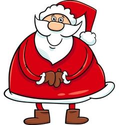 Santa claus cartoon character vector