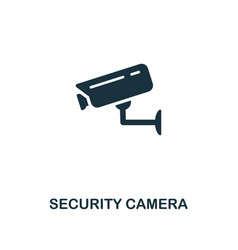 security camera icon premium style design from vector image