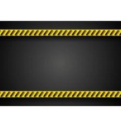 Danger tape abstract background vector image