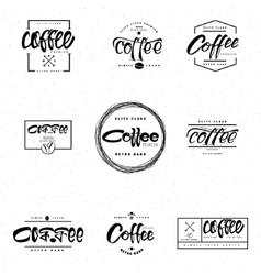 Coffee - badge signboard can be used to design vector image vector image
