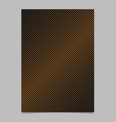 halftone diagonal square pattern background page vector image