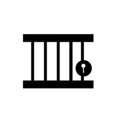 jail icon ui eps jpg picture flat app web vector image
