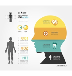 Medical Infographic Design template vector