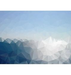 mosaic sea vector image