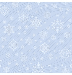 pattern snow light vector image